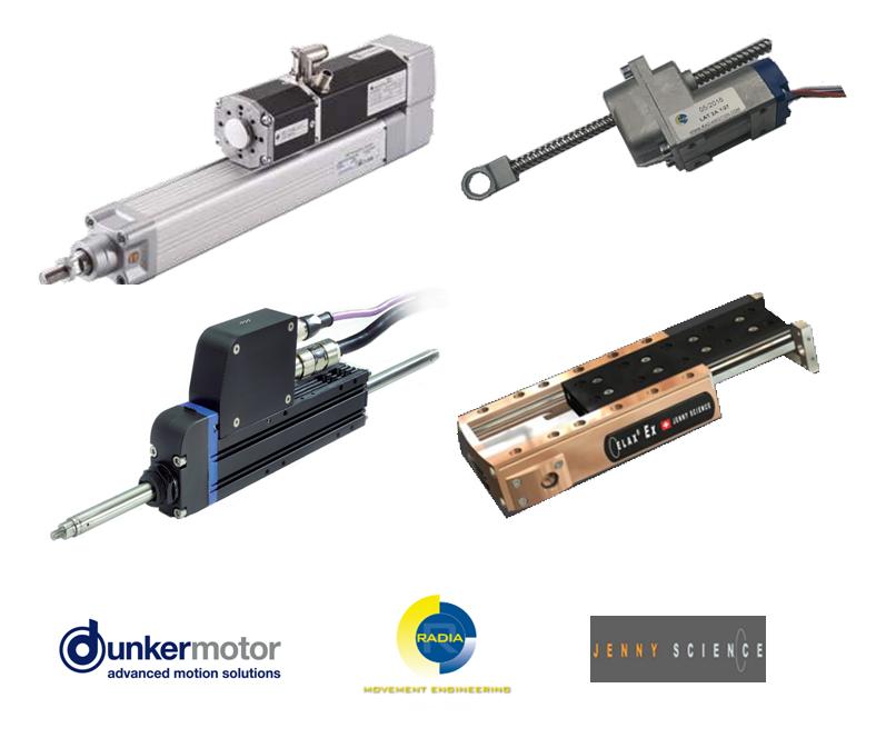 Linear Motors + Logos2